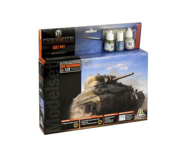 Italeri 74002 M4 Sherman World of Tanks