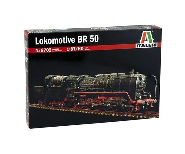 Italeri 8702 BR 50 gőzmozdony makett