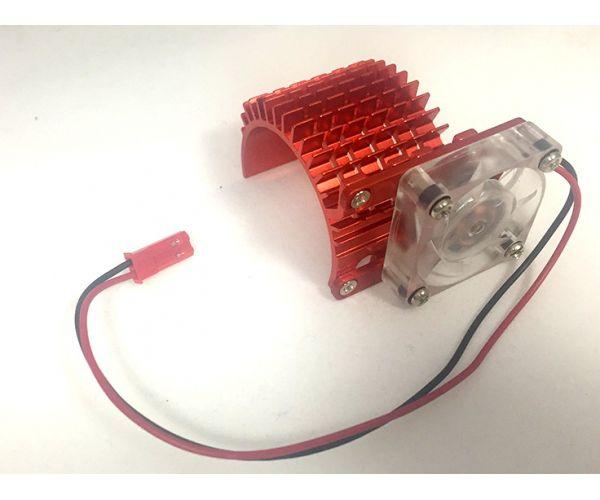 Hűtőborda ventillátorral 540 motorra