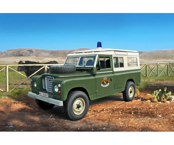 Italeri 6542 LAND ROVER SERIES III 109 Guardia Civil
