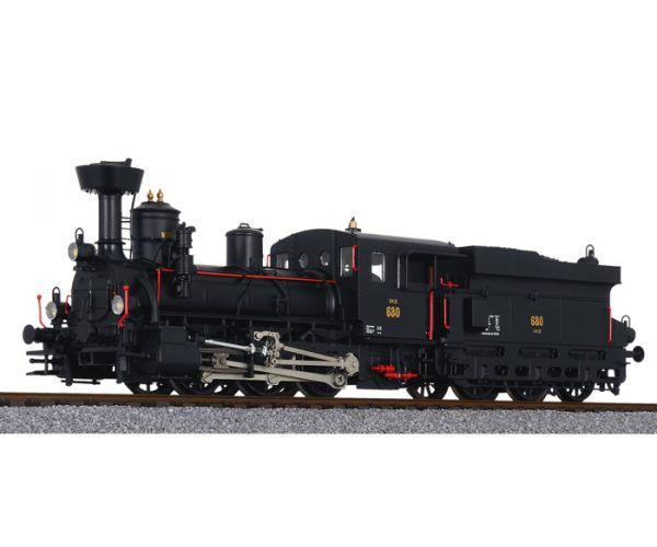 Liliput 131968 Gőzmozdony Rh 680 múzeumi mozdony GKB III
