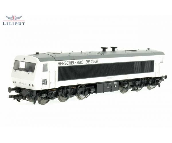 Liliput 132050 Dízelmozdony DE 2500 BR 202 002-2, Henschel, DB IV
