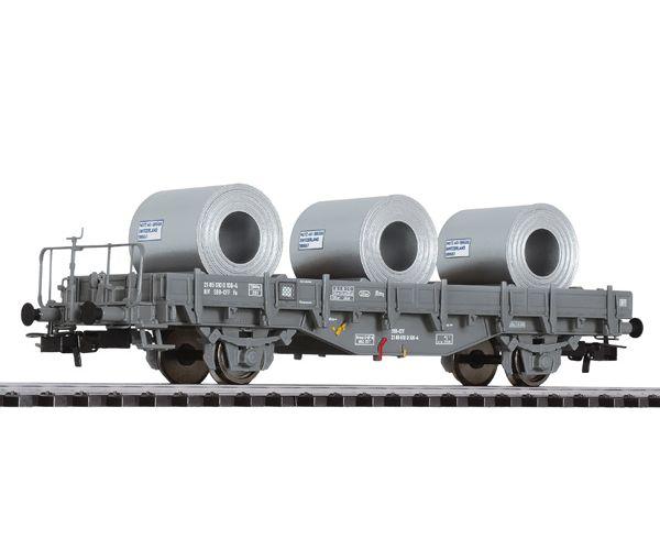 Liliput 235052 Pőrekocsi Fs acéltekercs rakománnyal SBB IV