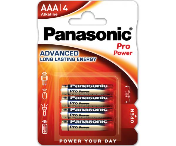 Panasonic AAA 4db ProPower elem
