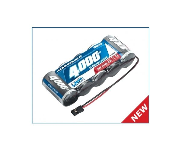LRP 430609 LRP XTEC 1/5 RX-pack Straight SubC NiMH