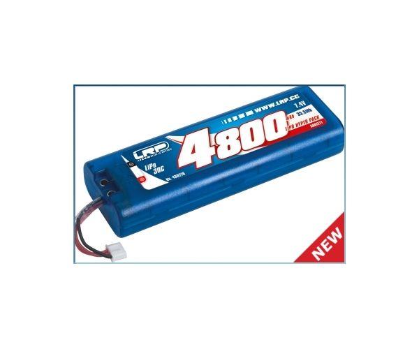 LRP akkupack 4800mAh 30C 7,4V