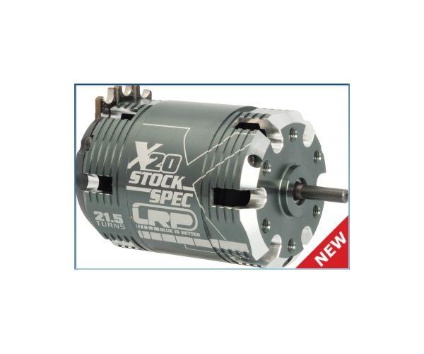 LRP X20 21,5T StockSpec brushless motor