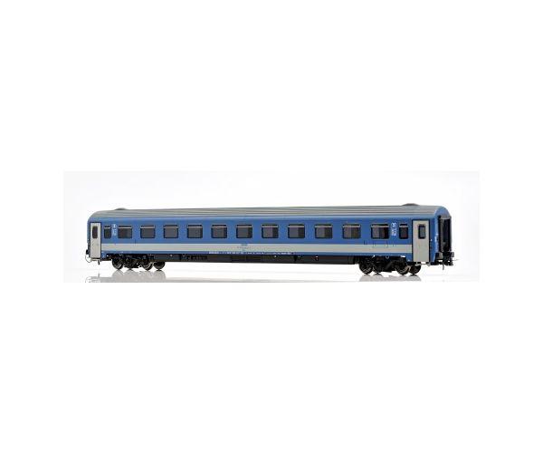 NMJ 404102 Személykocsi 2.o. Bmz, 21-91 104-5, fülkés, CAF, MÁV V