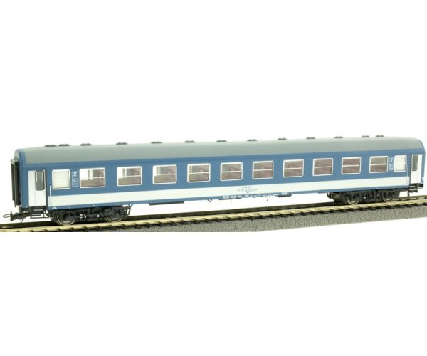 NMJ 410103 Személykocsi 2.o. Bo, fülkés, MÁV H-Start VI, belső világítással, 3. pályaszám