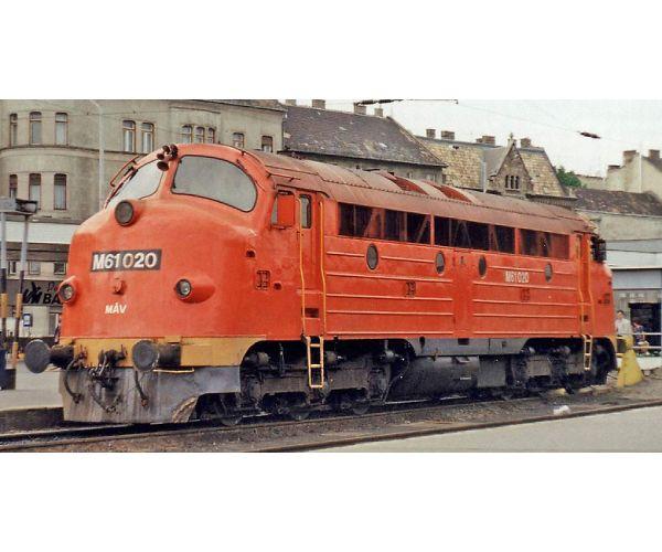 NMJ 90204 Dízelmozdony M61 020 Nohab MÁV IV