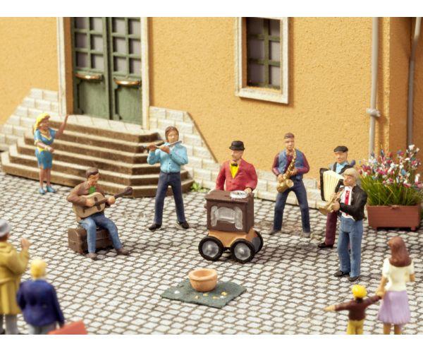 Noch 12905 Utcazenészek, figurák hangmodullal és hangszóróval