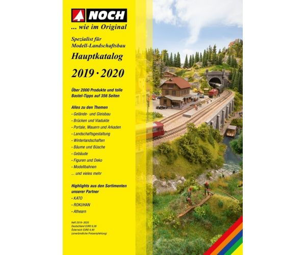 Noch 71119 Katalógus, 2019-2020, német nyelvű