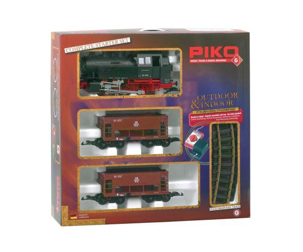 Piko 37100 Startszett, BR 80 gőzmozdony teherkocsikkal, DB III
