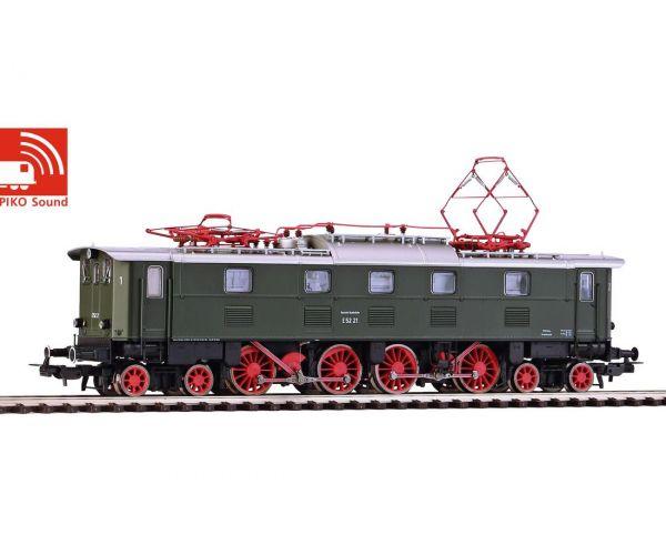 Piko 51822 Villanymozdony E 52 21, DB III, hangdekóderrel