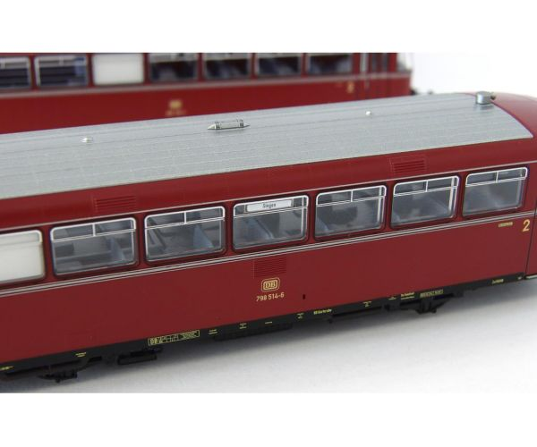 Piko 52720 Sínbusz VT 798, 998.6 vezérlőkocsival, DB IV