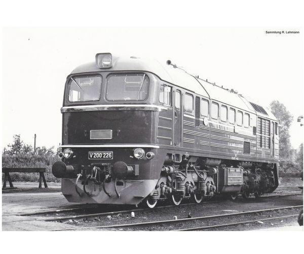 Piko 52800 Dízelmozdony BR V200 Szergej, DR III