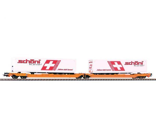 Piko 54776 Zsebeskocsi T3000e Sdggmrss738,  Schöni félptókocsikkal, Wascosa VI