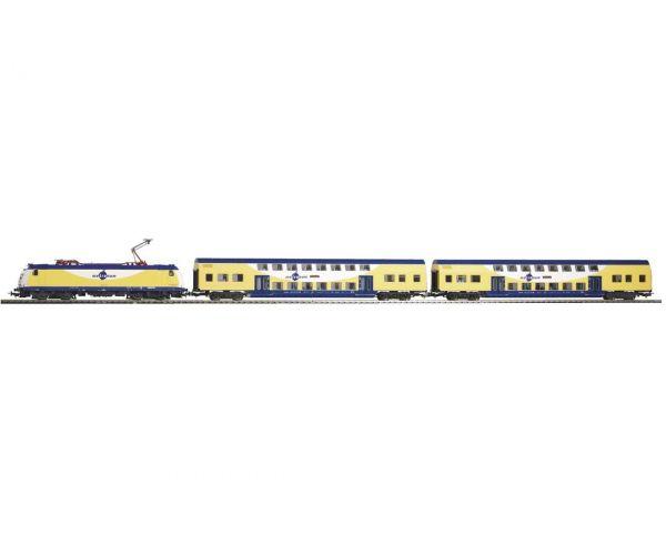 Piko 57181 Startszett Metronom villanymozdony személykocsikkal