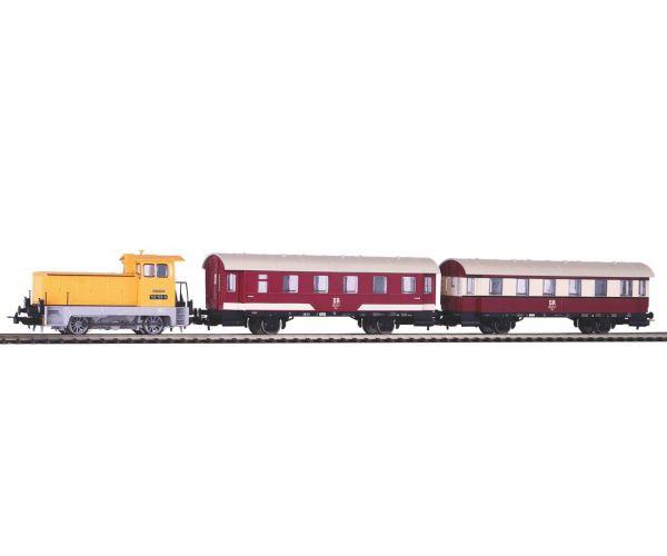 Piko 58135 Vonat szett BR 102 103-9 dízelmozdony személyvagonokkal, DR IV