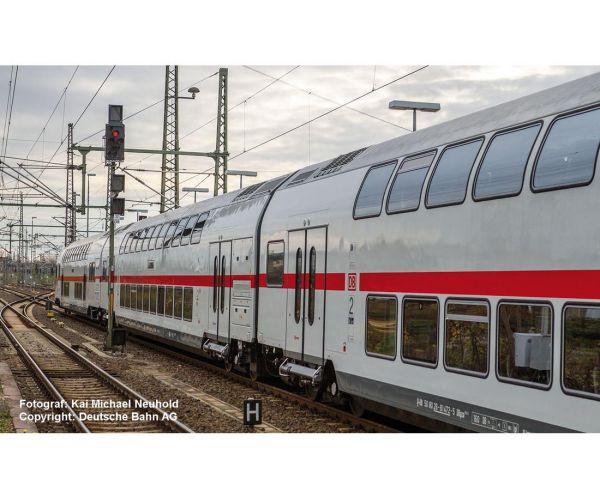Piko 58801 Emeletes személykocsi 2.o. BDpza, IC-festés, DB AG VI