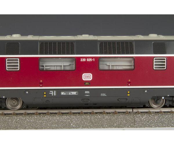 Piko 59702 Dízelmozdony BR 220 025-1, DB IV, 2. pályaszám