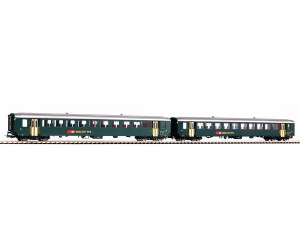 PIKO 96782 Személykocsi szett 2.o.  EW I, Typ B, SBB IV