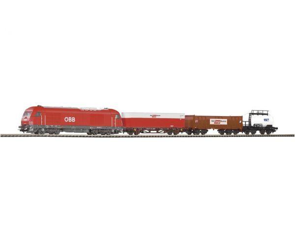 Piko 96948 Startszett Herkules dízelmozdony teherkocsikkal ÖBB V