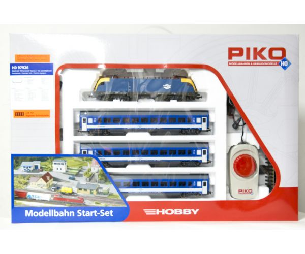 Piko 97926 Kezdőkészlet, MÁV Taurus villanymozdony személyvagonokkal, MÁV V