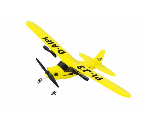 Piper J3-Cub repülőgép 2CH Gyro 2,4G