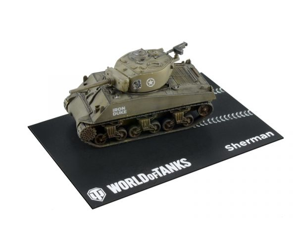 34101 Italeri Sherman World Of Tanks 1:72 Easy Kit