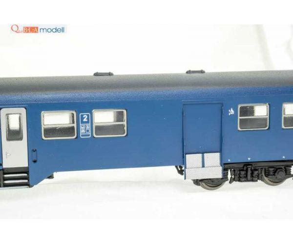 QuaBLA 21213  Személykocsi poggyász- és kerékpárszakasszal 2.o. BDh, MÁV-Start VI
