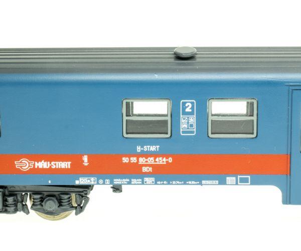 QuaBLA 21315 Posta ingavonat elővárosi szerelvény, BDt vezérlőkocsi Bhv személyvagonnal, MÁV-Start VI