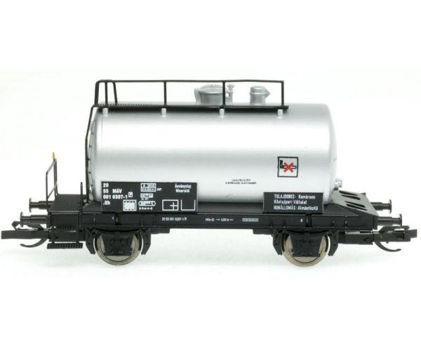 QuaBLA  82013 Tartálykocsi fékhíddal Uh, 6307-1, MÁV IV