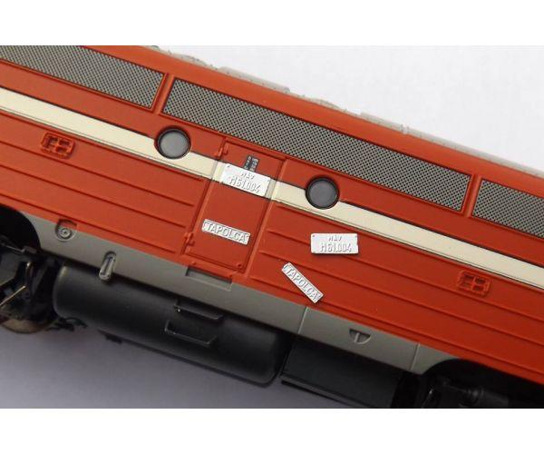 QuaBLA 99001 Pályaszám és városnév szett M61 NoHAB mozdonyhoz
