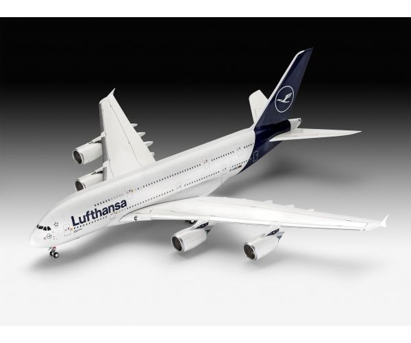Revell 03872 Revell Airbus A380-800 Lufthansa New Livery 1:144 (3872)