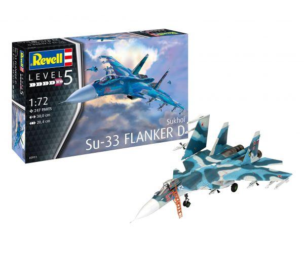 Revell 03911 Szukhoj SZU-33 Flanker D