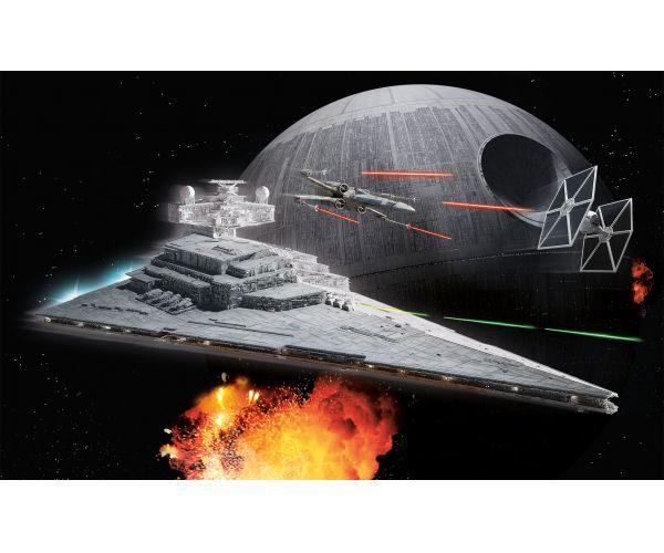 Revell 06749 Star Wars Birodalmi Csillagromboló, fény- és hangeffekttel, összepattintható