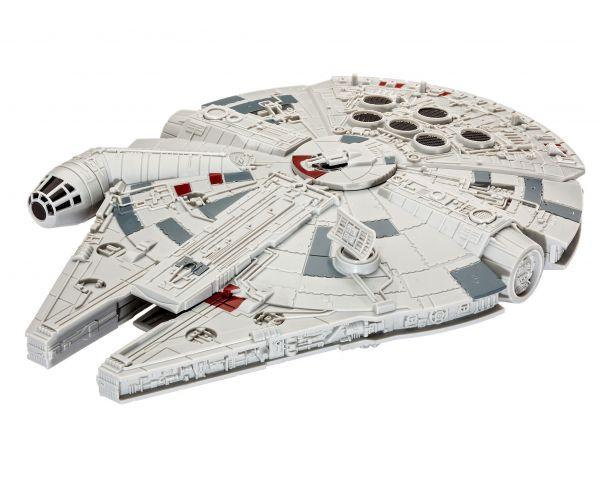 Revell 06765 Star Wars Millennium Falcon, hasng- és fényeffekttel, összepattintós