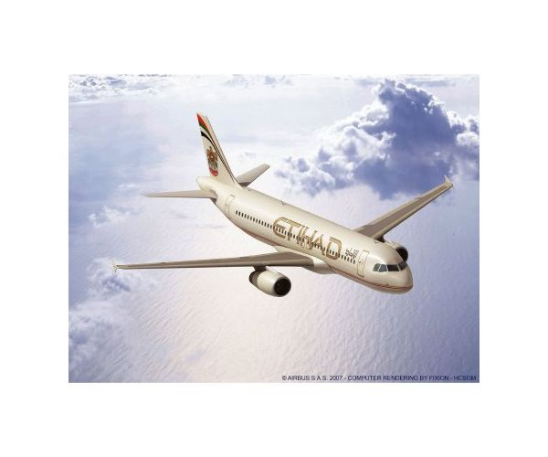 Revell 3968 Airbus A320 Etihad 1:144