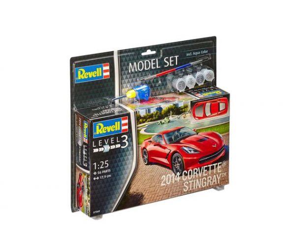 Revell 67060 Model Set 2014 Corvette Stingray