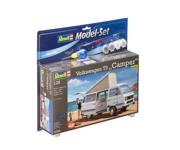 Revell 67344 Model Set Volkswagen T3 Camper