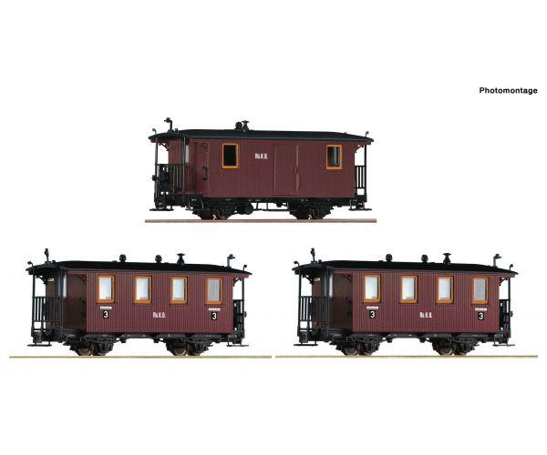Roco 34043 Személykocsi szett RüKB I