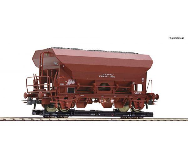 Roco 34574 Rollwagen Eds önürítős kocsival, DR IV