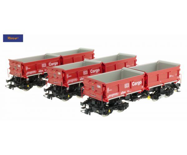 Roco 67199 Billenthető rakterű kocsiszett DB Cargo, DB AG V