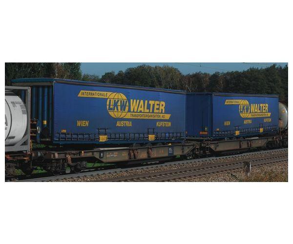 Roco 67398 Dupla zsebes kocsi RoLa Sdggmrs LKW Walter VI