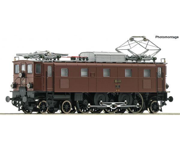 Roco 72293 Villanymozdony Ae 3/6II, SBB II-III. hangdekóderrel