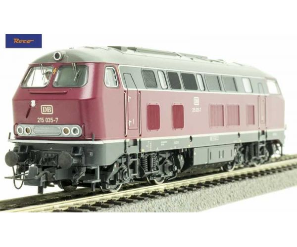 Roco 72757 Dízelmozdony BR 215 035-7, DB IV, hangdekóderrel