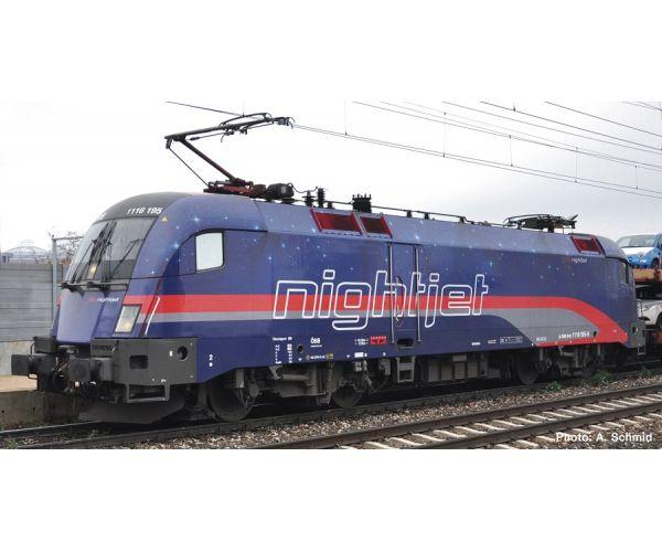 Roco 73242 Villanymozdony Rh 1116 195-5 Taurus Nightjet, ÖBB VI, hangdekóderrel