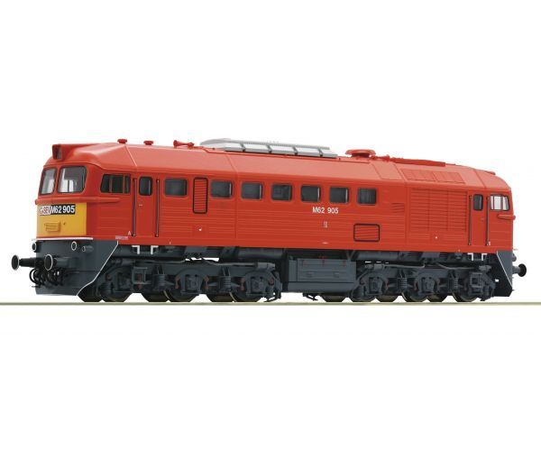 Roco 73243 Dízelmozdony M62 905 Szergej, GySEV IV-V