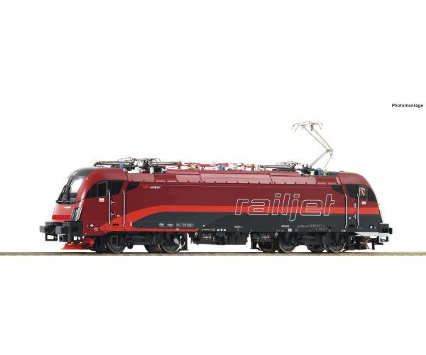 Roco 73247 Roco 73247 Villanymozdony Rh 1216 017-4 Railjet Taurus, ÖBB VI